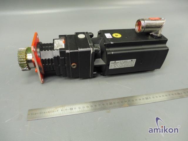 Baumüller Servomotor DSCG 056 K64U38-5 UL mit SPN Getriebe U34  Hover
