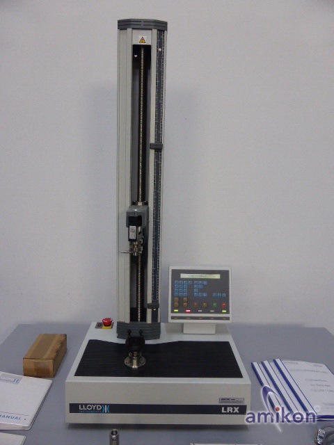 Ametek Lloyd Instruments LRX Materialprüfmaschine Zug- und Druckprüfung  Hover