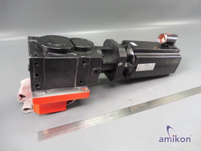 Baumüller Servomotor DSCG 056S64U38-5 Br. 24V mit Vogel Getriebe 299 659 8