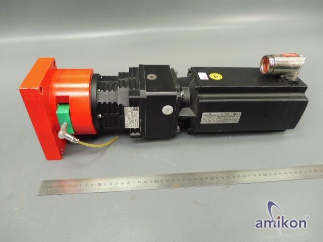 Baumüller Servomotor DSCG 056 S64U38-5 UL mit SPN Getriebe U35