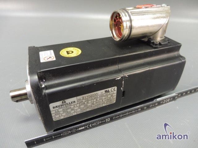 Baumüller Servomotor DSCG 045 K65U40-5 UL