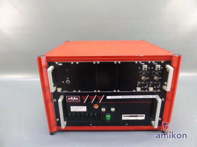 RMS Elektrodynamische Schwinganlage Testmanager SWR 900 u. SWE 384 , SWE 366