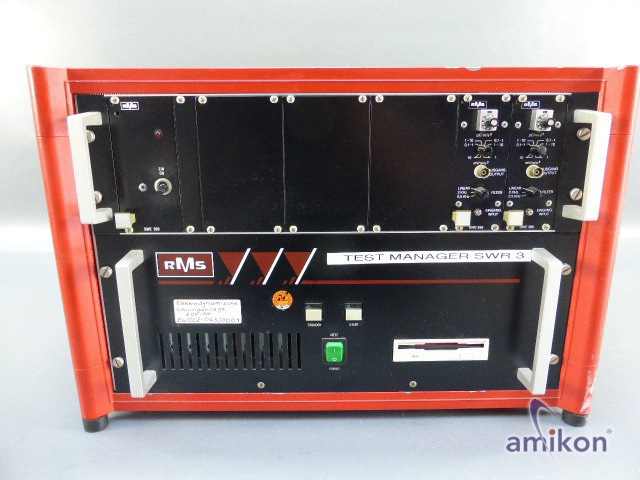 RMS Elektrodynamische Schwinganlage Testmanager SWR 900 u. SWE 384 , SWE 366  Hover