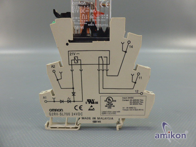 Omron Universelles Leistungsrelais G2RV-SL700  Hover