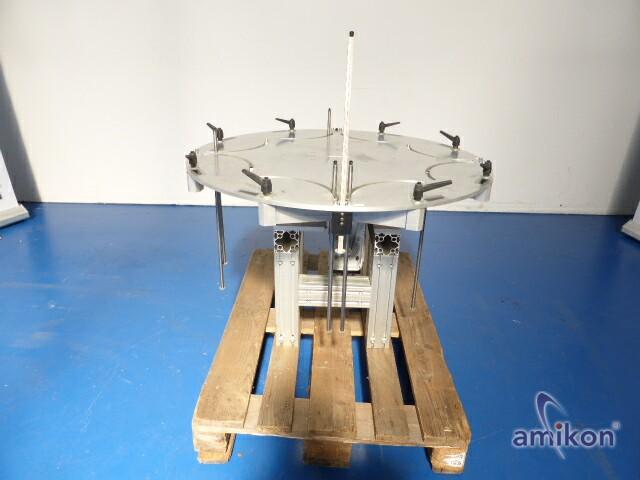 Weiss elektromechanischer Rundschalttisch TC 220 T