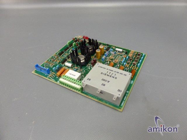 Siemens Simoreg Steuerplatine C98043-A1045-L1-04