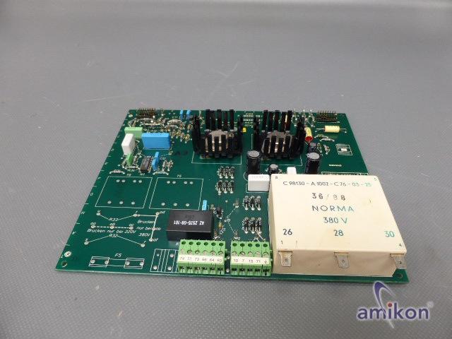 Siemens Simoreg Steuerplatine C98043-A1001-L6-13  Hover