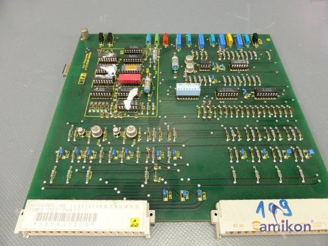 Siemens Steuerkarte  6DM1001-7WA11-1  6DM1 001-7WA11-1  Hover