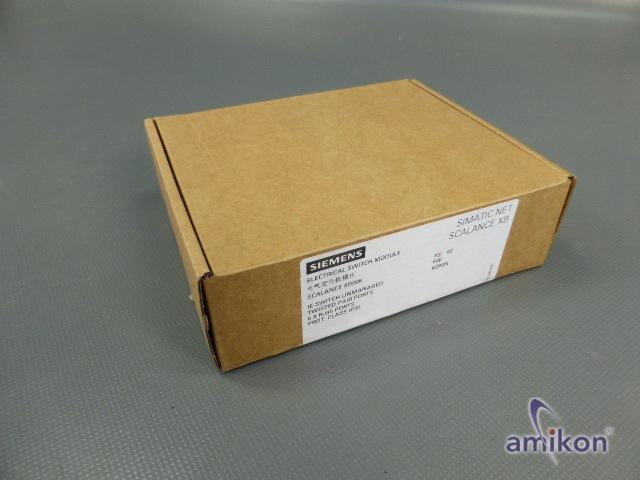 Siemens Scalance Industrieal Switch 6GK5008-0BA00-1AB2 neu !