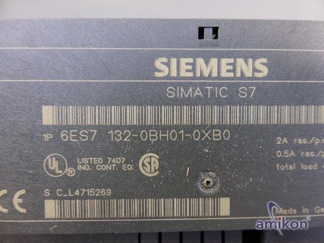 Siemens Simatic S7 Digitales Elektronikmodul 6ES7132-0BH01-0XB0 neu !  Hover
