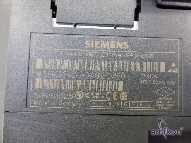Siemens Simatic S7 CP 342-5 Kommunikationsprozessor 6GK7342-5DA01-0XE0 neu !  Hover