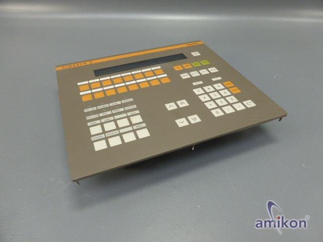 Siemens Simadyn Bediengerät OP1 6DD1670-0AF0 E-Stand: C