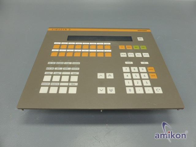 Siemens Simadyn Bediengerät OP1 6DD1670-0AF0 E-Stand: C  Hover