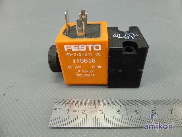 Festo Magnetventil MD-3/2-24DC 119616