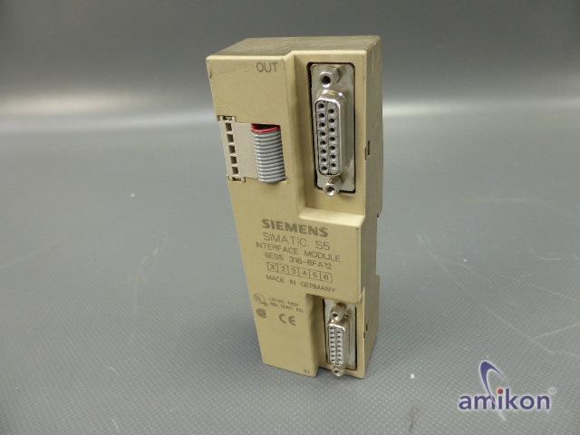 Siemens Simatic S5 Anschaltung 6ES5316-8FA12