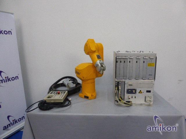 Stäubli Roboter RX 60 mit Steuereinheit CS7MB RX60 u. Manual Control Operator