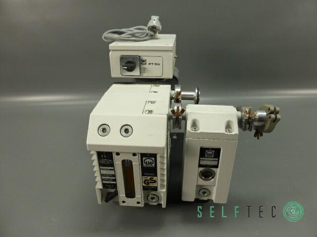 Leybold Drehschieber Vakuumpumpe TRIVAC D4B AF4-8 PT 50 – Bild 2