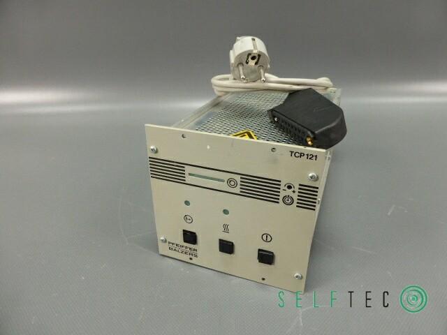 Balzers Pfeiffer Turbo Pump Controller TCP 121 – Bild 1