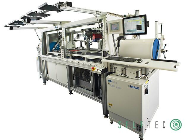 KMS Automation Laborarbeitsplatz Glovebox Bau von Conizellen 3-Achs-Roboter – Bild 1