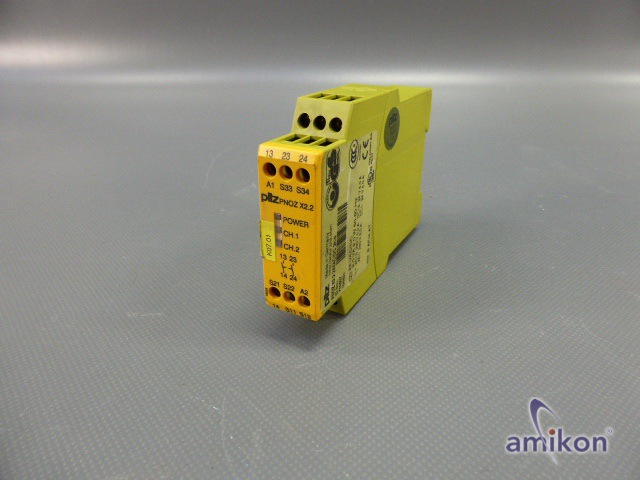 Pilz Safety Relay PNOZ X2.2 24VAC/DC 2n/o 774607  Hover