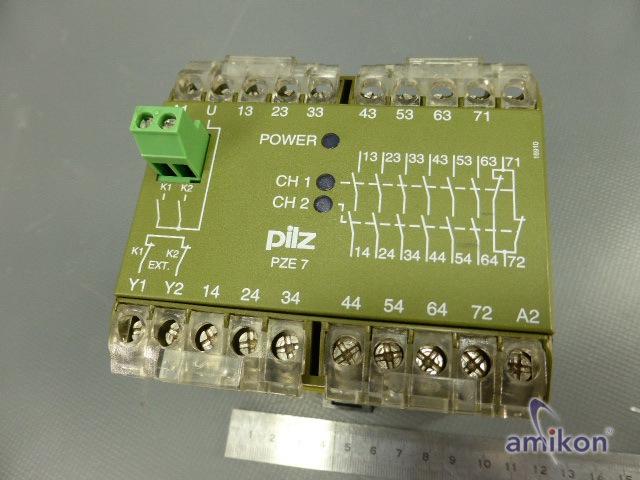 Pilz Sicherheitsrelais PZE/7 24VDC 474050  Hover