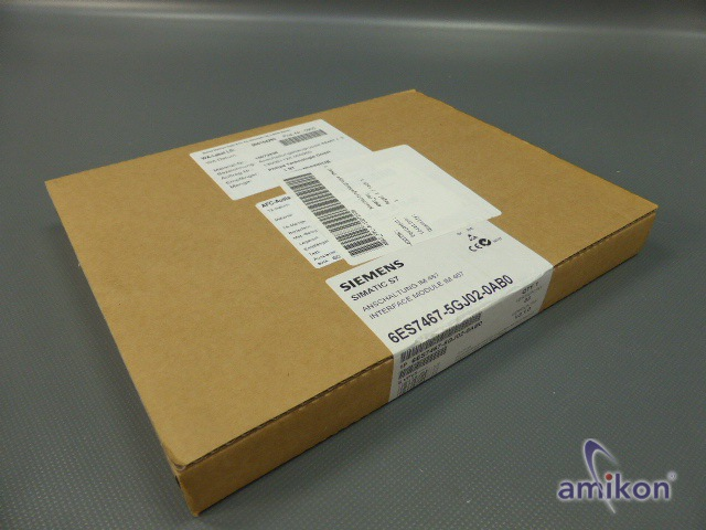 Siemens Simatic S7-400 Anschaltung 6ES7467-5GJ02-0AB0 E-Stand: 3 neu !