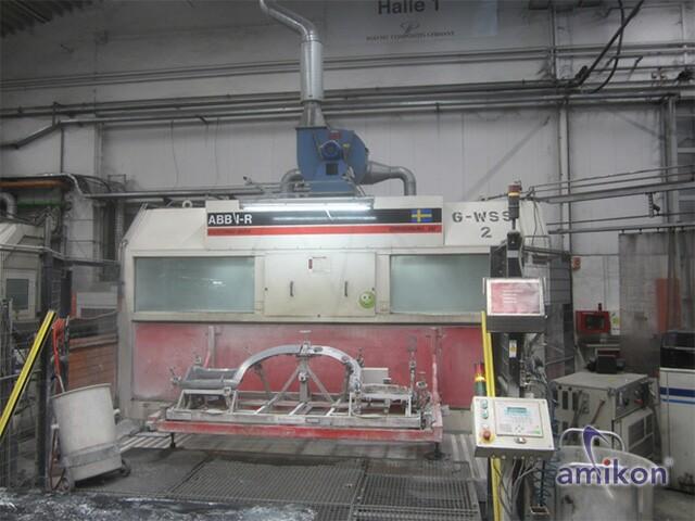 DRS Cutting Box Original IV Purwasserschneidanlage Wasserstrahl (ABB IRB 2400F) #2