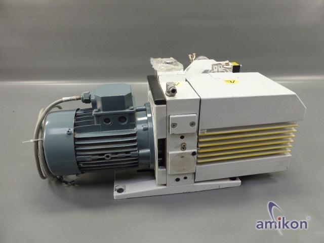 Leybold Trivac Ölgedichtete Vakuumpumpe D 25 B - Auspuff-Filter