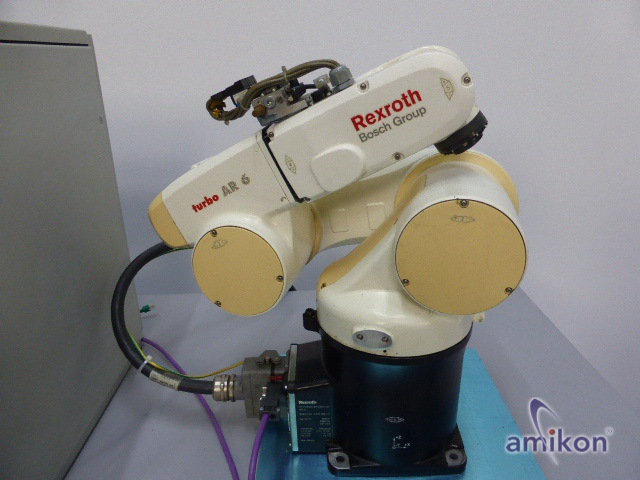 Bosch Rexroth Knickarmrobotern AR6 mit Bosch IQ 200 Roboterstationssteuerung  Hover