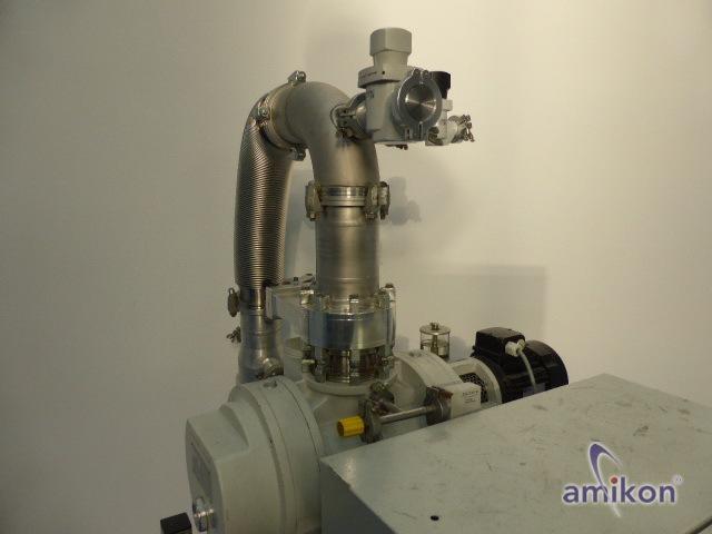 Pfeiffer Vakuumpumpstand WOD 410 B mit Oerlikon Leybold SC 60 D u. WKP 500A  Hover