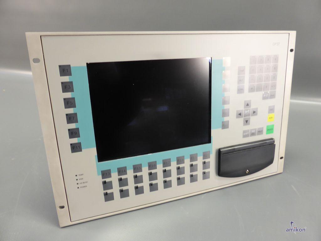 Siemens Simatic OP37 Panel 6AV3637-1LL00-0AX0 6AV3 637-1LL00-0AX0 E-Stand: A06  Hover