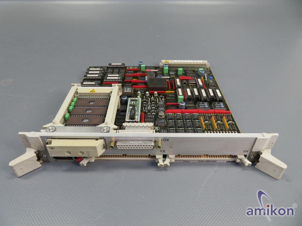 Siemens Simadyn D Prozessmodul 6DD1606-1AC0 mit Speicher  Hover