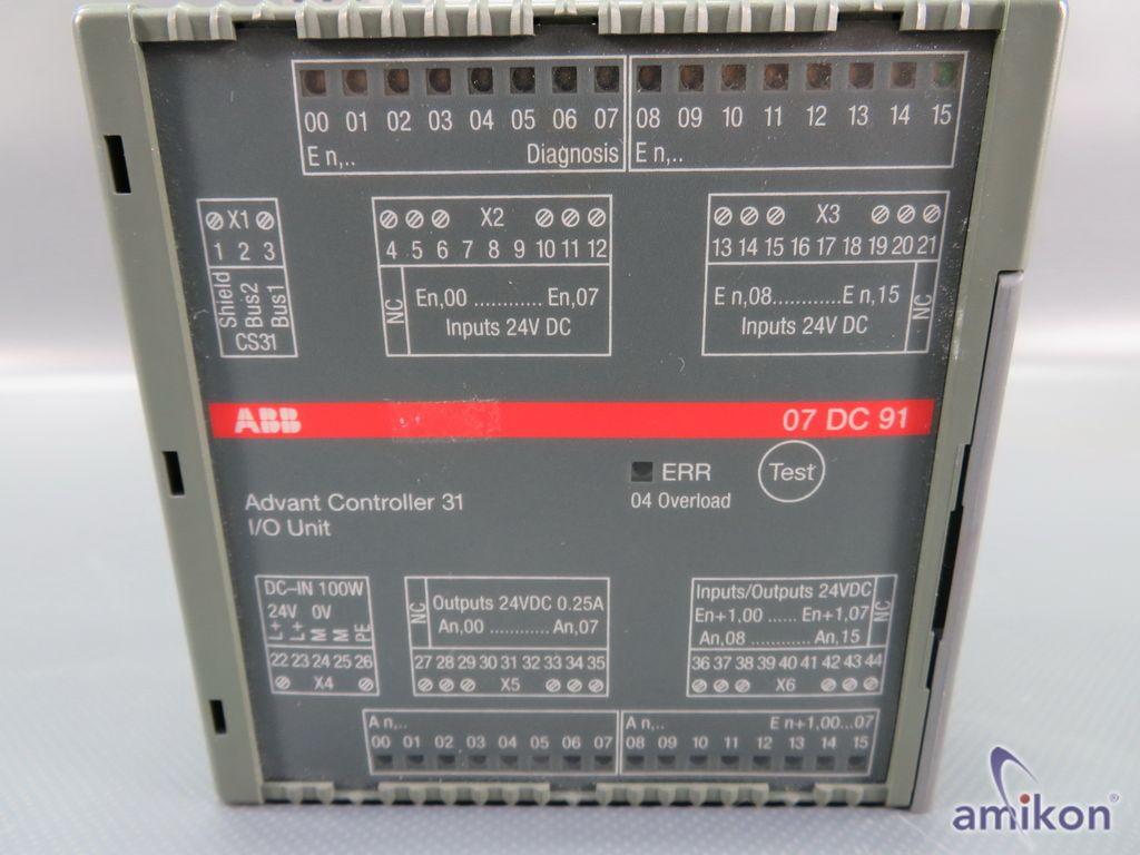 ABB Advant Controller 31 I/O Unit GJR5251400R0202 07DC91 C  Hover