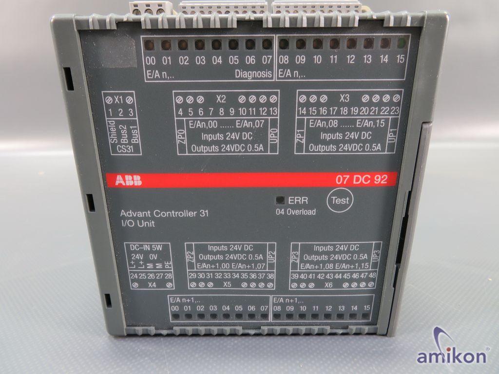 ABB Advant Controller 31 I/O Unit GJR5252200R0101 07DC92 E  Hover