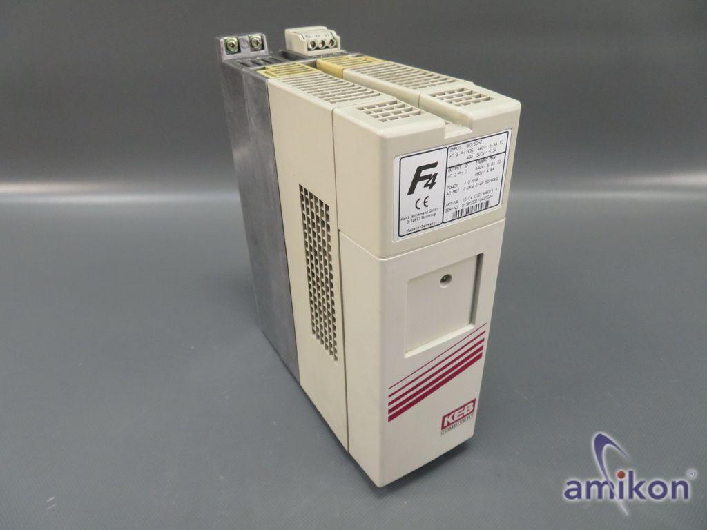 KEB F4 Combivert Frequenzumrichter 10.F4.C1D-3460/1.4 4,0 KVA 2.2kW