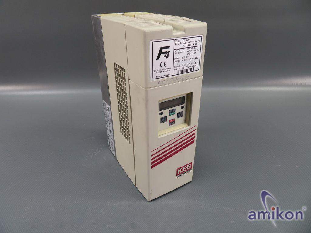 KEB F4 Combivert Frequenzumrichter 12.F4.C1D-3420/1.4 6,6 KVA 4.0kW