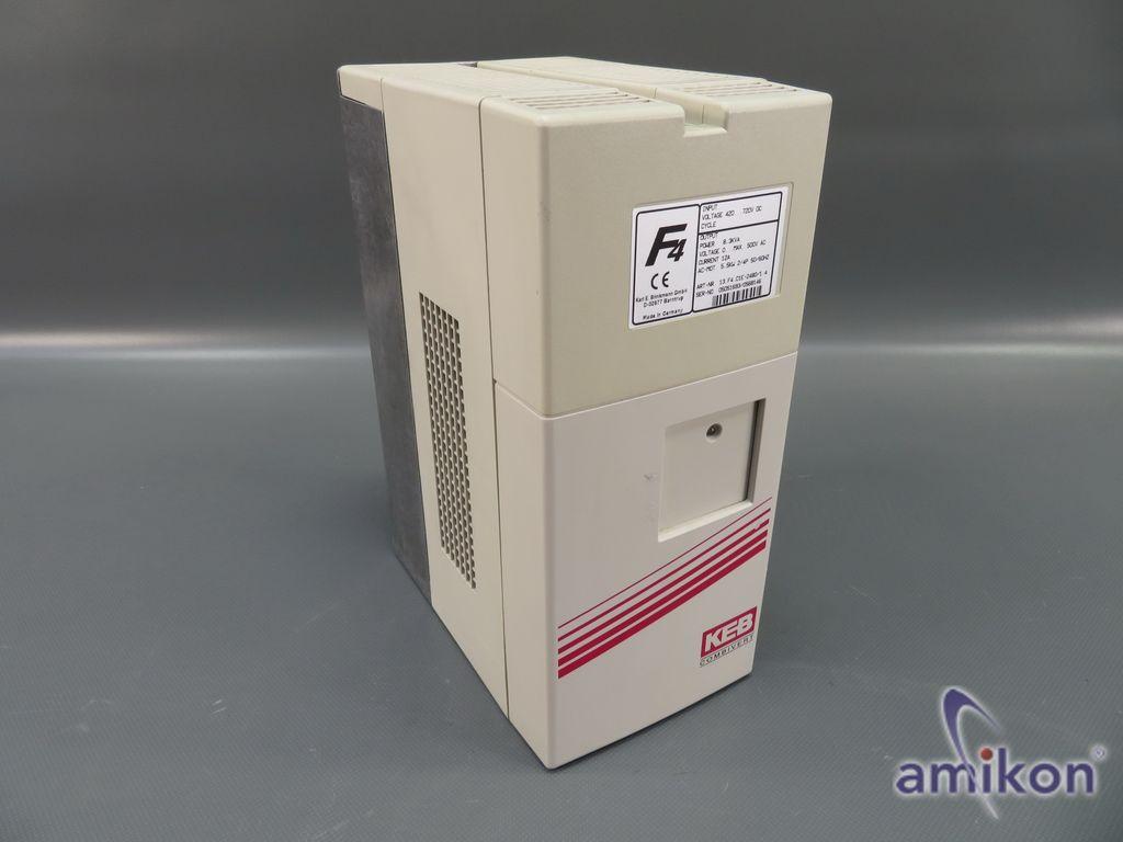 KEB F4 Combivert Frequenzumrichter 13.F4.C1E-2480/1.4 8,3 KVA 5,5 kW