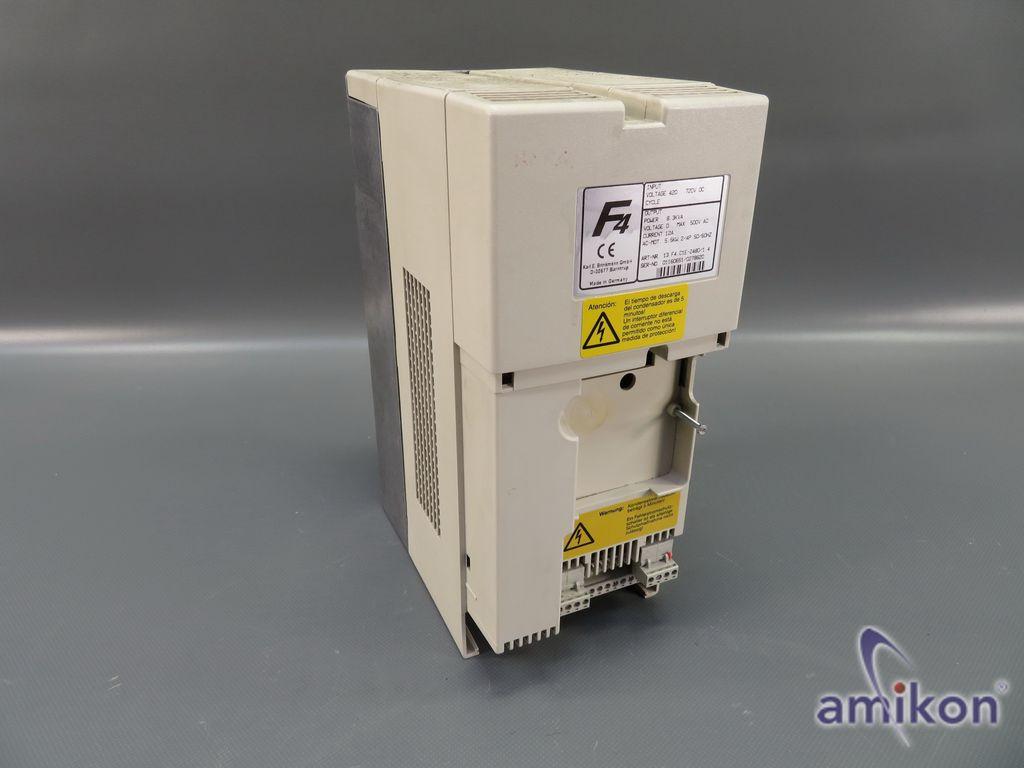 KEB F4 Frequenzumrichter 13.F4.C1E-2480/1.4 8,3 KVA 5,5 kW ohne Abdeckung