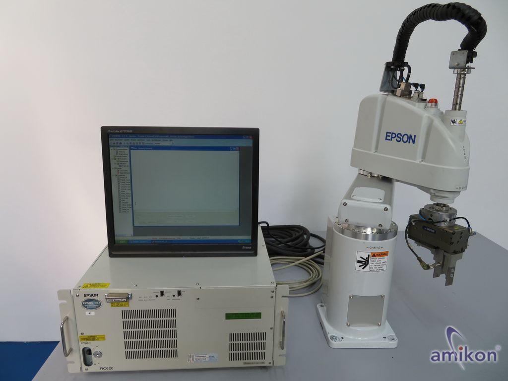 Epson SCARA Roboter G6-551S mit Epson Robotersteuerung RC620