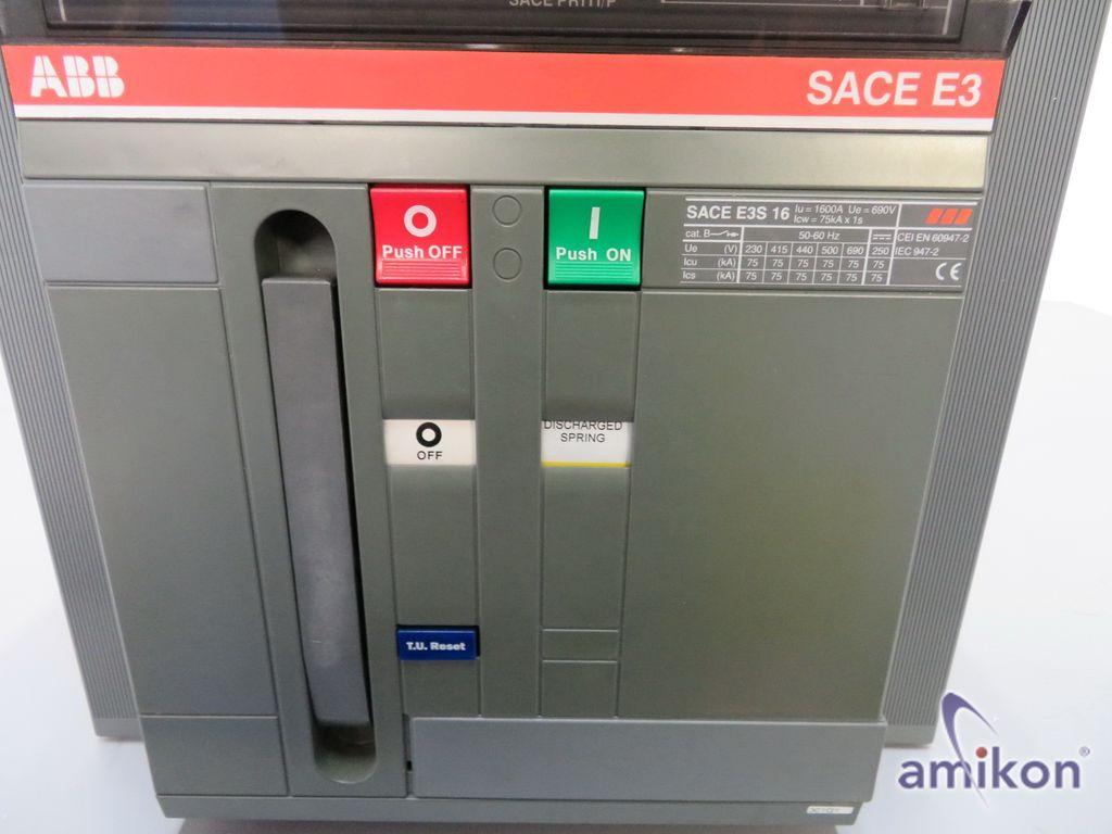 ABB Isolierter Schutzschalter SACE E3S 16  Hover