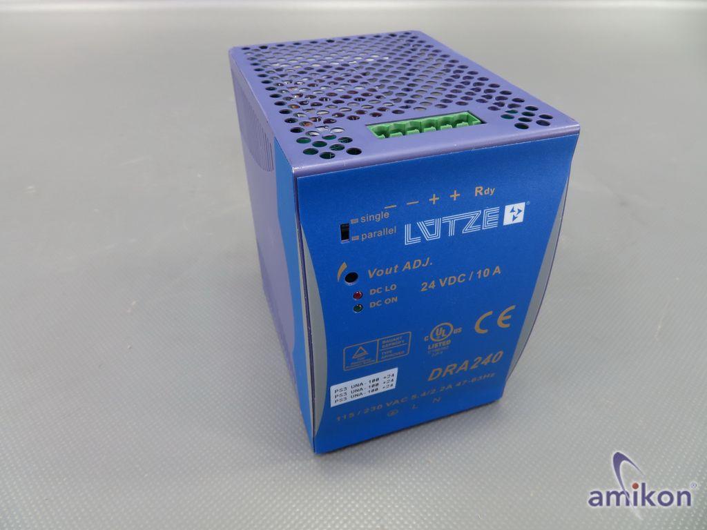 Lütze Spannungsversorgung DRA240-24B 722-759