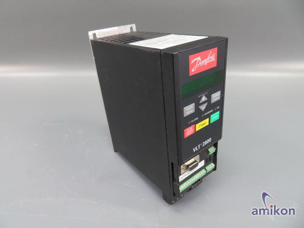 Danfoss Frequenzumrichter VLT 2800 VLT2807PT4B20STR1DBF00A00 195N1015