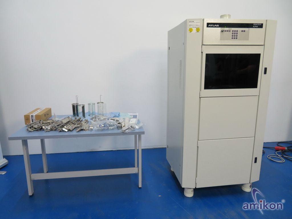 Atlas Xenotest Alpha LM High Energy kompaktes Bewitterungsprüfgerät Alpha+