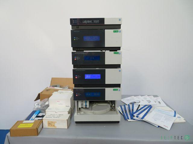 Dionex UltiMate 3000 UHPLC System (SRD3600 DGP-3600A VWD-3400 TCC-3100 WPS-3000TSL) – Bild 1