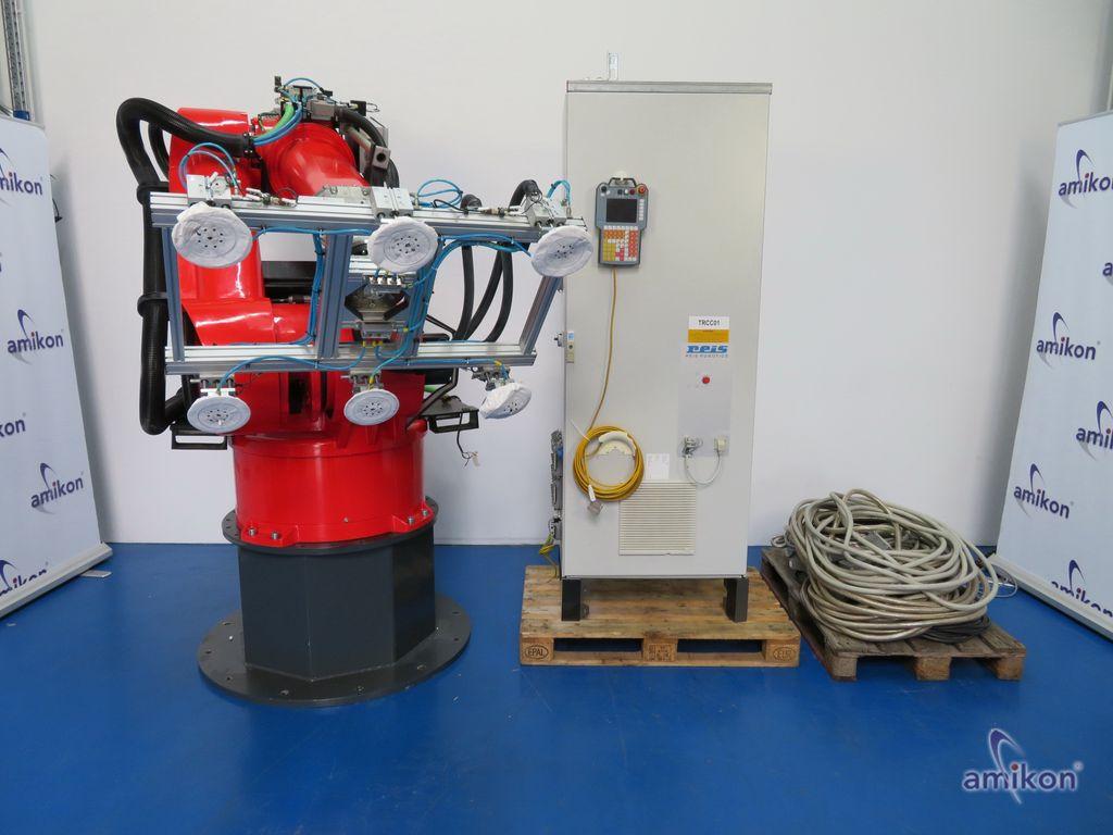 Reis Roboter 6 Achs Industrieroboter RV130-90-RSV m. Steuerung und Bedieneinheit