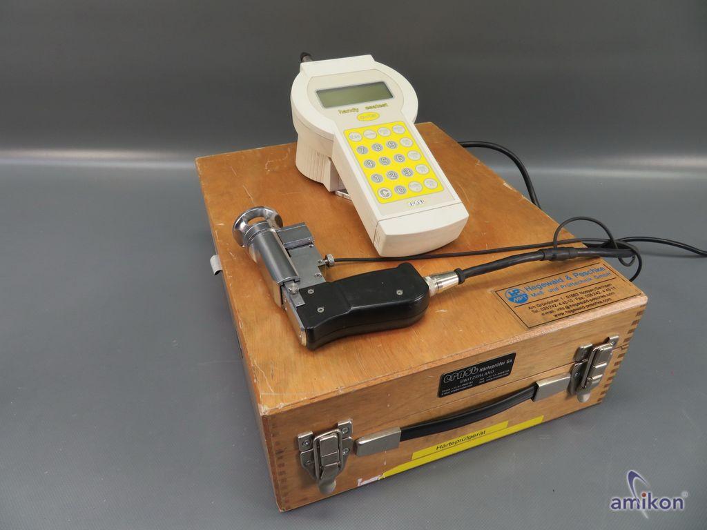 CISAM ERNST Handy Esatest Tragbares Härteprüfgerät mit Digitalanzeige u. zubehör