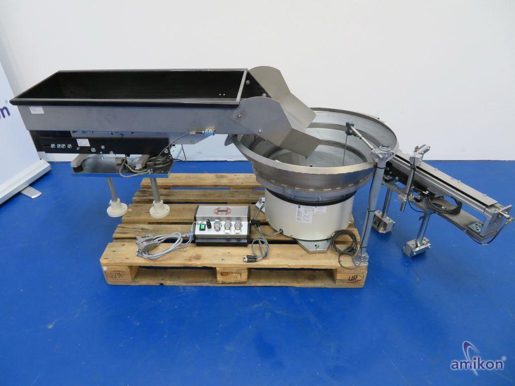RNA Vibrationsbunker BVL-50 Schwingförderer SRC-N 400-1 R mit Linearförderer  Hover