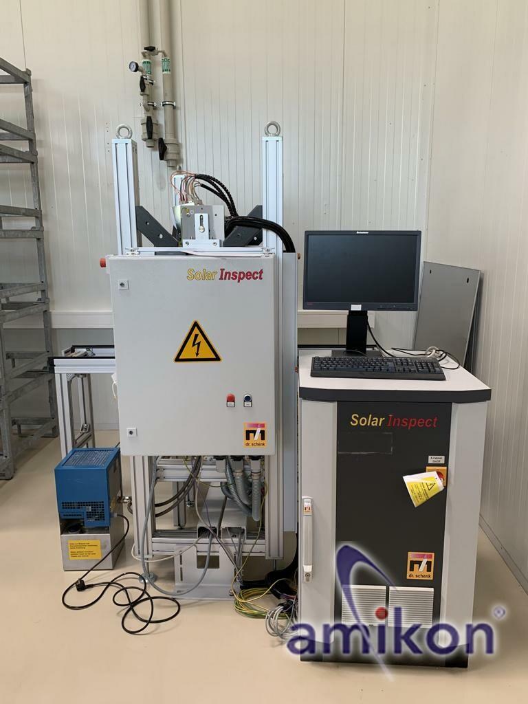 Dr. Schenk SolarInspect Inspektion von Kristallsilizium-Solarmodulen  Hover