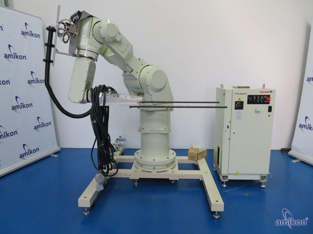 Kawasaki Roboter Palettierer D42F-D001 6 Achs 30 kg FC030N C Steuerungseinheit
