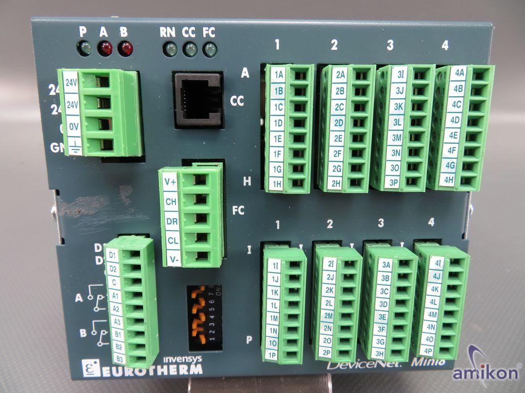 Eurotherm Invensys Profibus Mini8 Mehrkanal-PID-Regler ACQ / 0PRG  Hover